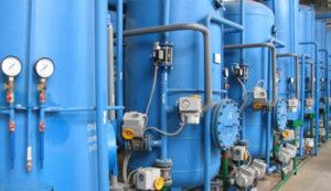 Система промышленной водоочистки